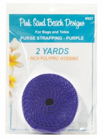 Purse Strapping - Purple