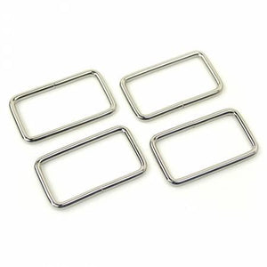 Rectangle Rings Nickel 4ct 1-1/2in # STS102ST
