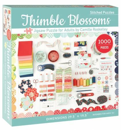 Thimble Blossoms Jigsaw Puzzle for Adult # 20450