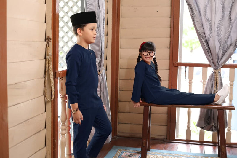 NAVY BLUE - KURUNG DAMAI
