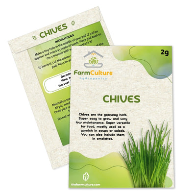 Chive Seeds - Farm Culture