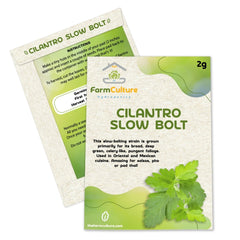 Cilantro Slow Bolt Seeds - Farm Culture