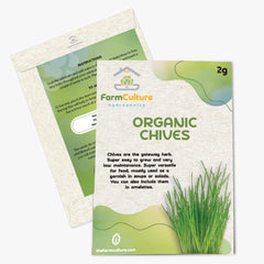 Organic Chive Seeds - Farm Culture