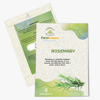Rosemary Seeds - Farm Culture