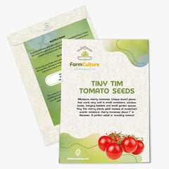 Tiny Tim Tomato Seeds - Farm Culture