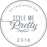 Jillian Fellers on Style Me Pretty