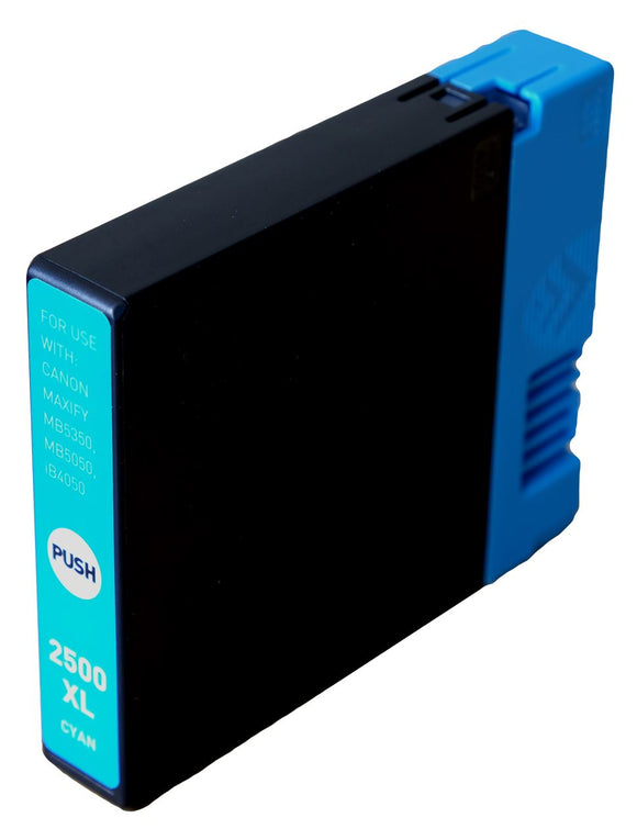 Canon PGi 2500XLC Cyan Compatible Ink Cartridge
