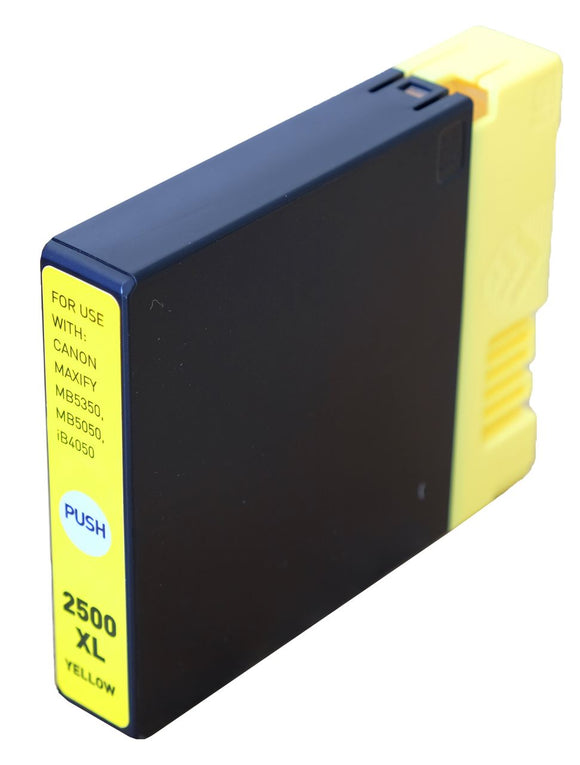 Canon PGi 2500XLY Yellow Compatible Ink Cartridge