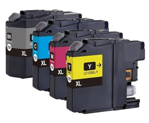 Brother LC127XL & 125XL Compatible Ink Cartridge Value Pack