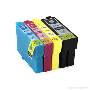 Compatible Extra Hi Yield Epson T130 Ink Cartridge Pack x 4