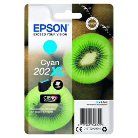 Epson 202XL Cyan Ink Cartridge