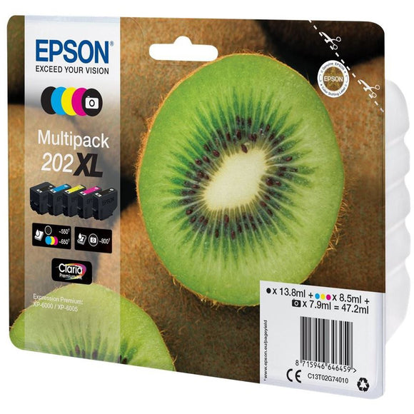 Best Epson 202XL Ink Cartridge Value Pack