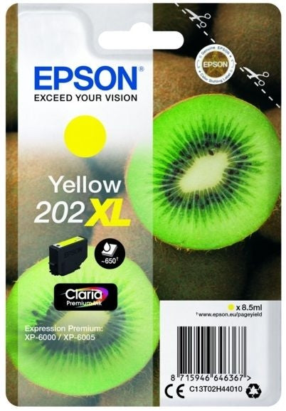 Best Epson 202XL Yellow Ink Cartridge