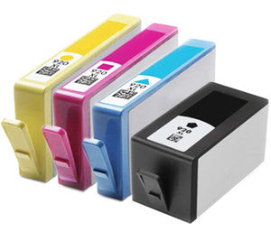 HP 920XL Black,Cyan,Magenta & Yellow Compatible Ink Cartridge Value Pack