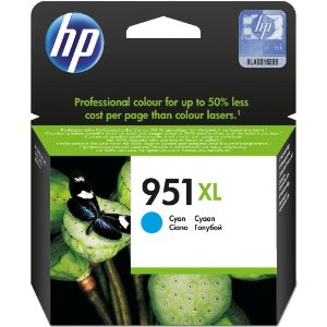 HP 951XL (CN046AE) Cyan Hi Capacity Ink Cartridge