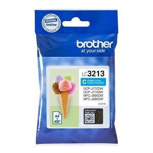 Brother LC3213 Cyan Ink Cartridge