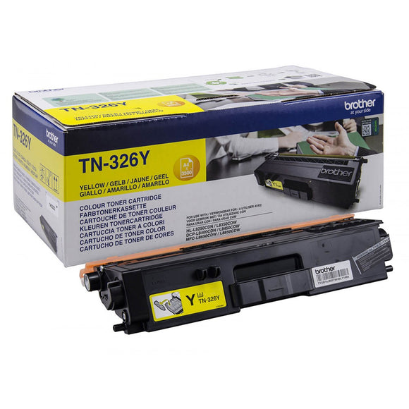Brother TN326 Yellow Toner Cartridge