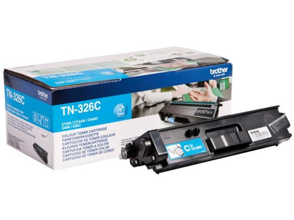 Brother TN326 Cyan Toner Cartridge
