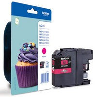 Brother LC123 Magenta Ink Cartridge