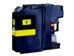 Brother LC123Y Yellow Compatible Ink Cartridge