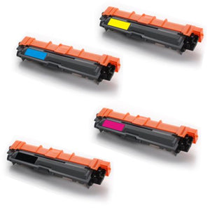 Brother TN241 &TN245 Toner Cartridge 4 Pack Compatible