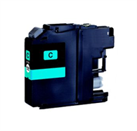 Brother LC125XL Compatible Cyan Ink Cartridge