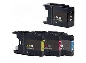 Brother LC1280XL Compatible Value Pack Of 4 Ink Cartridges
