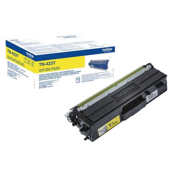Brother TN423 Hi Capacity Yellow Toner