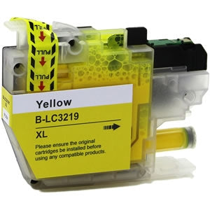 Brother LC3219XL Yellow Compatible Ink Cartridge