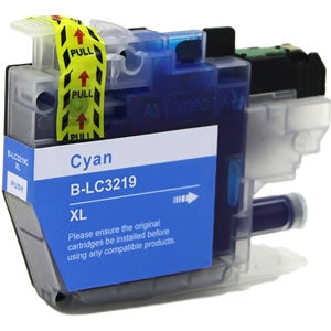 Brother LC3219XL Cyan Compatible Ink Cartridge