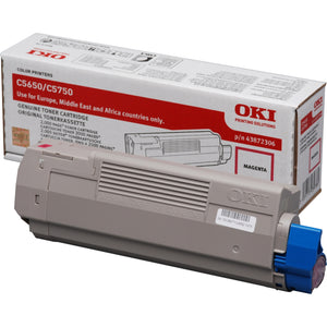 OKI C5650 Series Magenta Toner cartridge