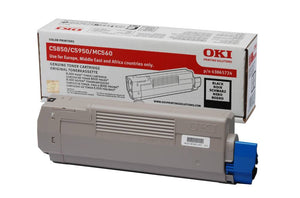 OKI MC560 Black Toner Cartridge