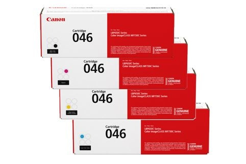 Genuine Canon 046H Hi Capacity Value Pack Toners