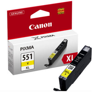 Canon CLi551XL Yellow Ink Cartridge