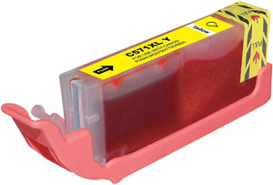 Canon CLi571XL Yellow Compatible Ink Cartridge