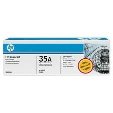 Hewlett Packard CB435a Black Toner Cartridge