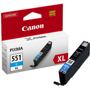 Canon CLi551XL Cyan Ink Cartridge