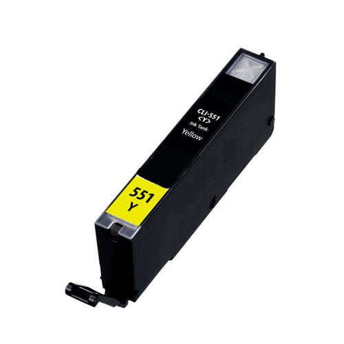 Canon CLi 551xl Yellow Compatible Hi Capacity Ink Cartridge
