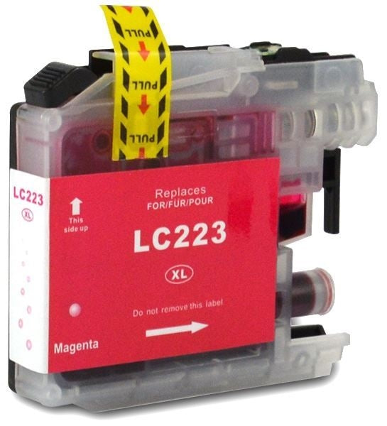 Compatible Brother LC223 Magenta Ink Cartridge
