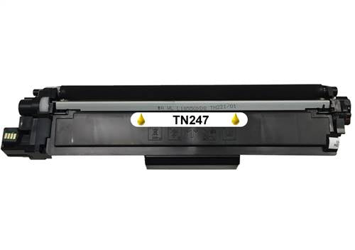 Compatible Brother TN247 Yellow Hi Capacity Toner