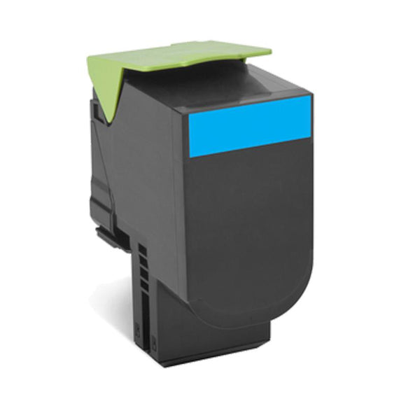 Lexmark CX310 Cyan Toner Compatible Cartridge