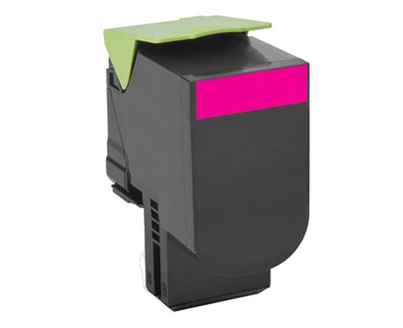 Lexmark CX410 Toner Magenta Compatible Cartridge