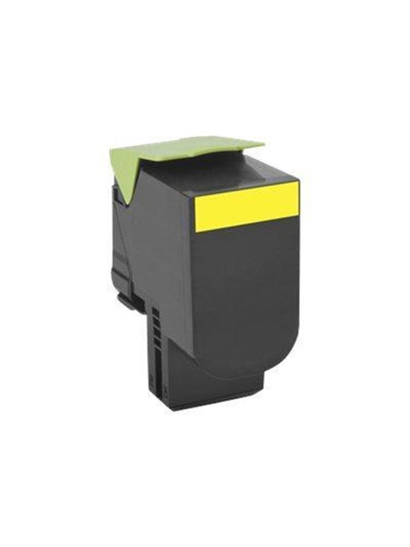 Lexmark CX410 Toner Yellow Compatible Cartridge