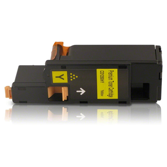 Dell 1250 Yellow Hi Capacity Compatible Toner Cartridge