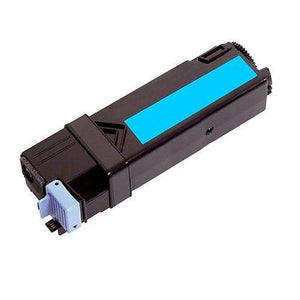 Dell 2135 Hi Yield Compatible Cyan Toner Cartridge.
