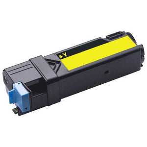 Dell 2135 Hi Yield Compatible Yellow Toner Cartridge.