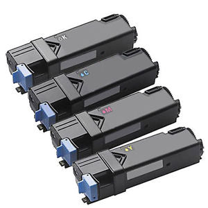 Dell 2155 Hi Yield Rainbow Pack x 4 Compatible Toner Cartridges