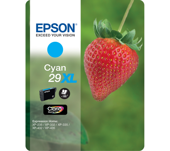 Epson 29XL (T2992) Hi Capacity Cyan Ink Cartridge