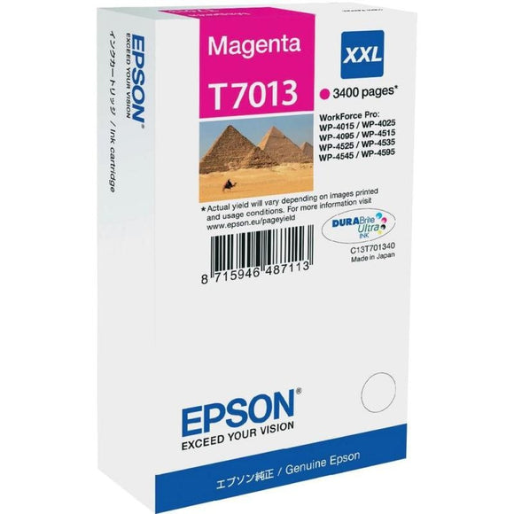 Epson T7013 Hi Capacity Magenta Ink Cartridge