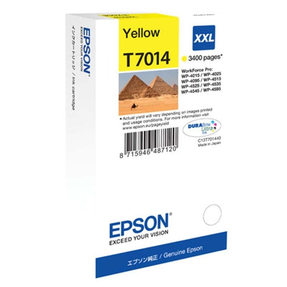 Epson T7014 Hi Capacity Yellow Ink Cartridge